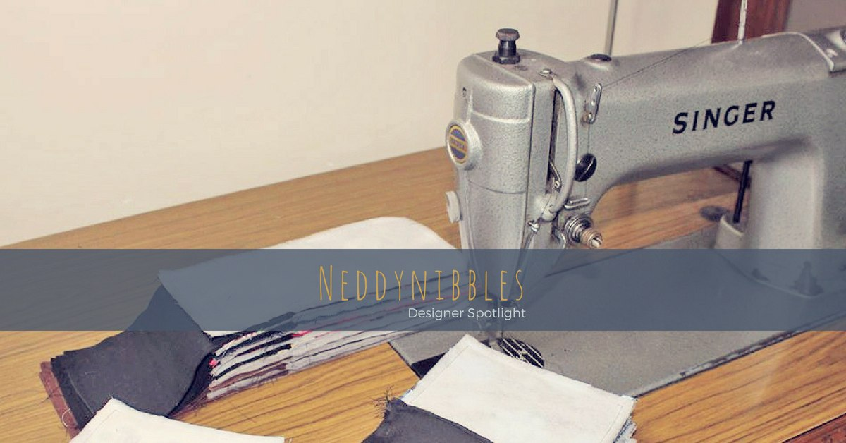 The daughter of a dressmaker and cabinet maker, Karen has been sewing a large range of handmade accessories from coin purses to pencil cases from an even larger array of fabrics for over 10 years under the moniker, Neddynibbles.