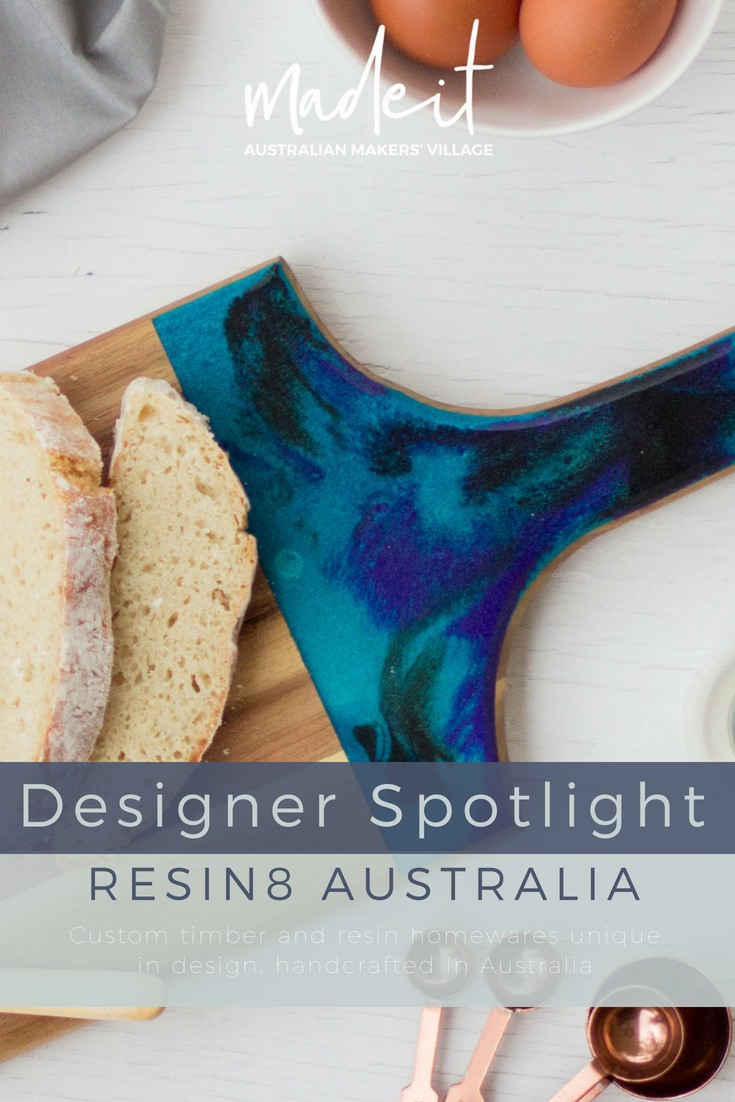 Lisa and her partner, Brad, are challenging a widely accepted mass-production mentality with uniquely designed and handcrafted homewares that reflect their clients' individual personalities.