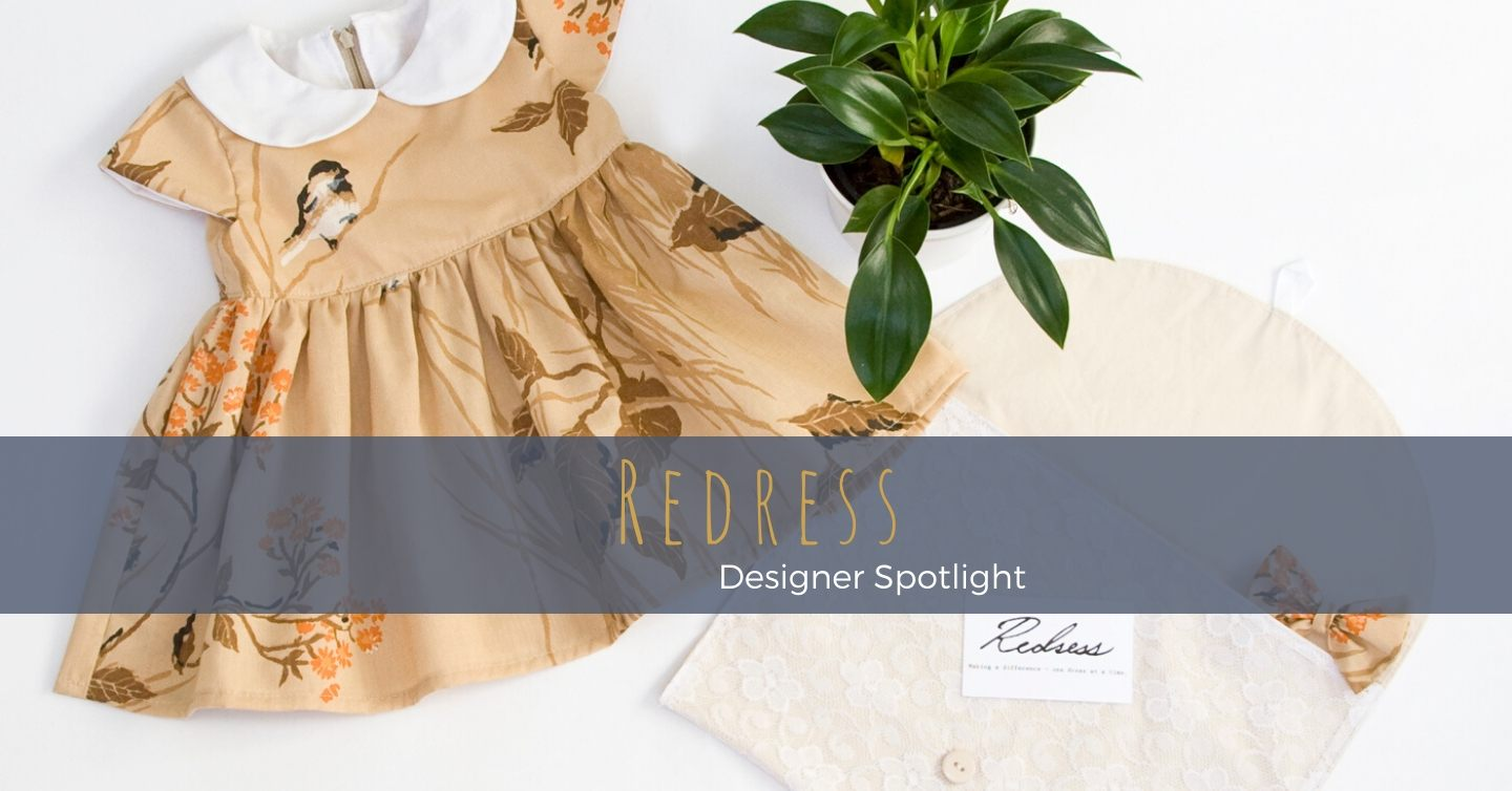 Lindsey is a frugal-minded working Canberra Mum forging her own path in the slow fashion movement, making heirloom pieces for little girls from salvaged textiles and making a difference – one dress at a time.