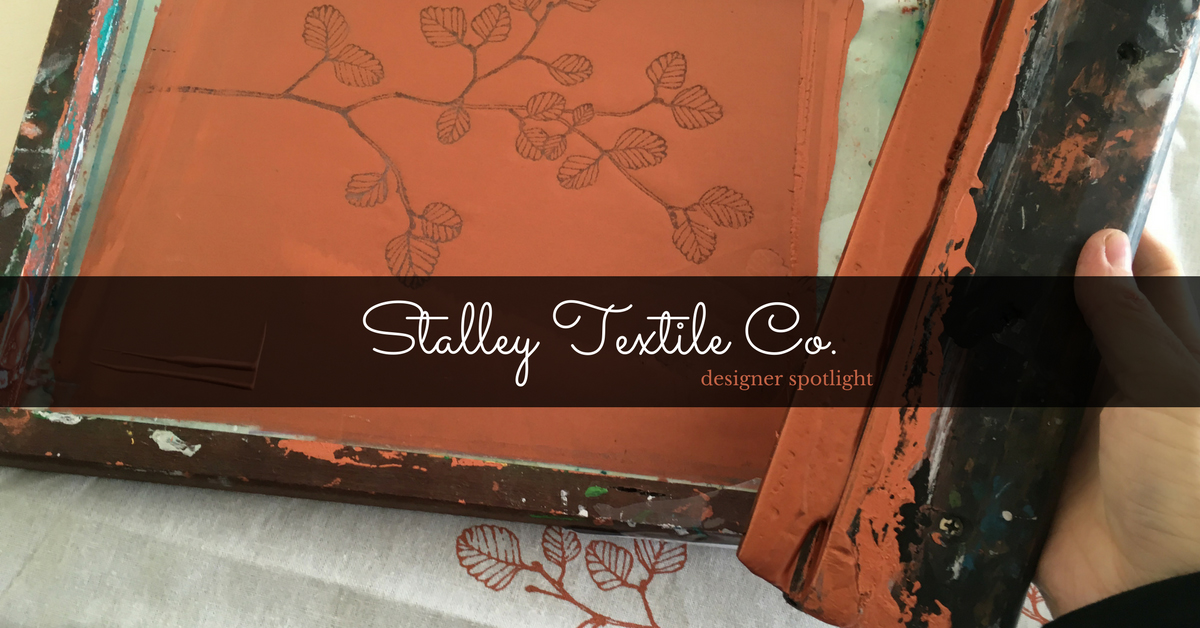 Textile designer, Stalley, showcases unique Tasmanian designs inspired by her home state