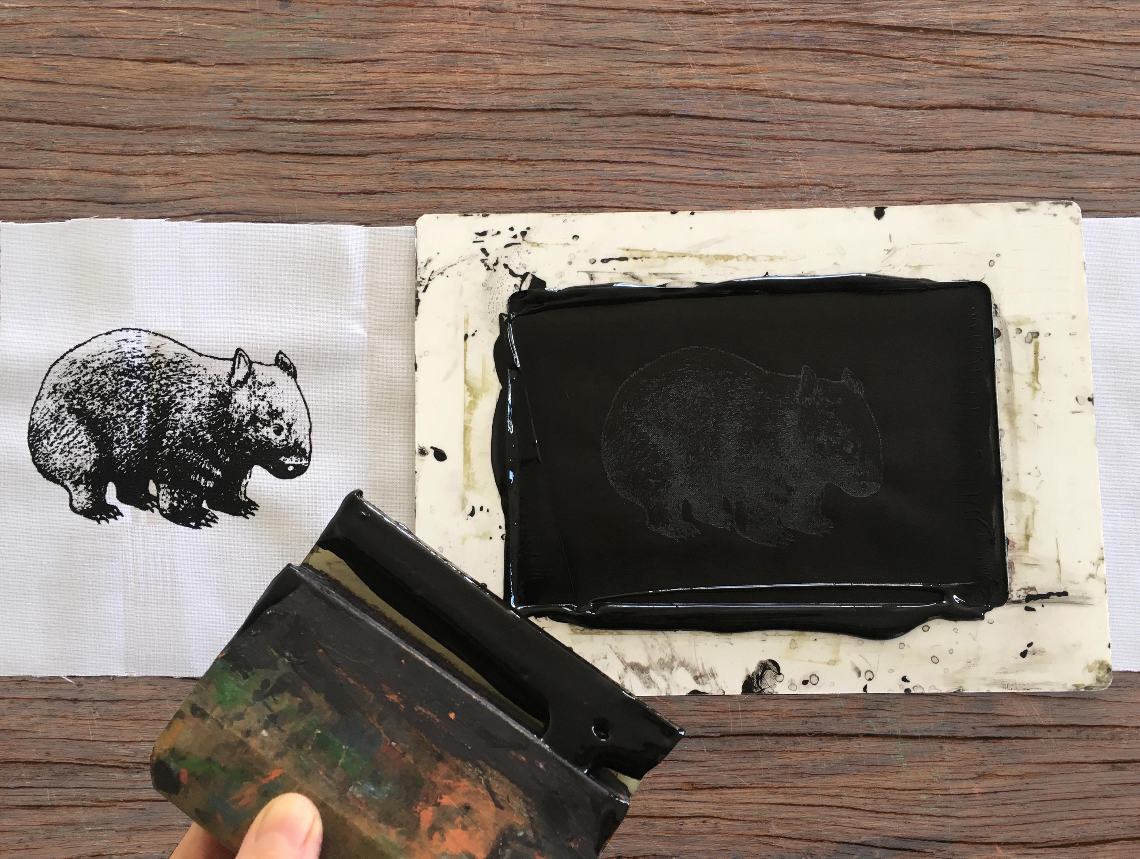 Wombat creation in progress