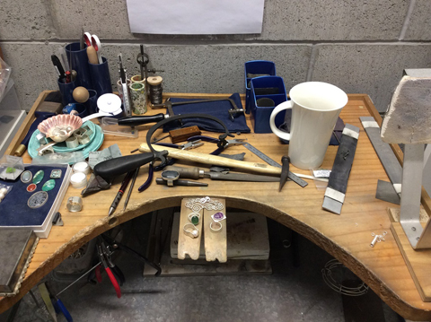 Tools of the trade and creations in progress