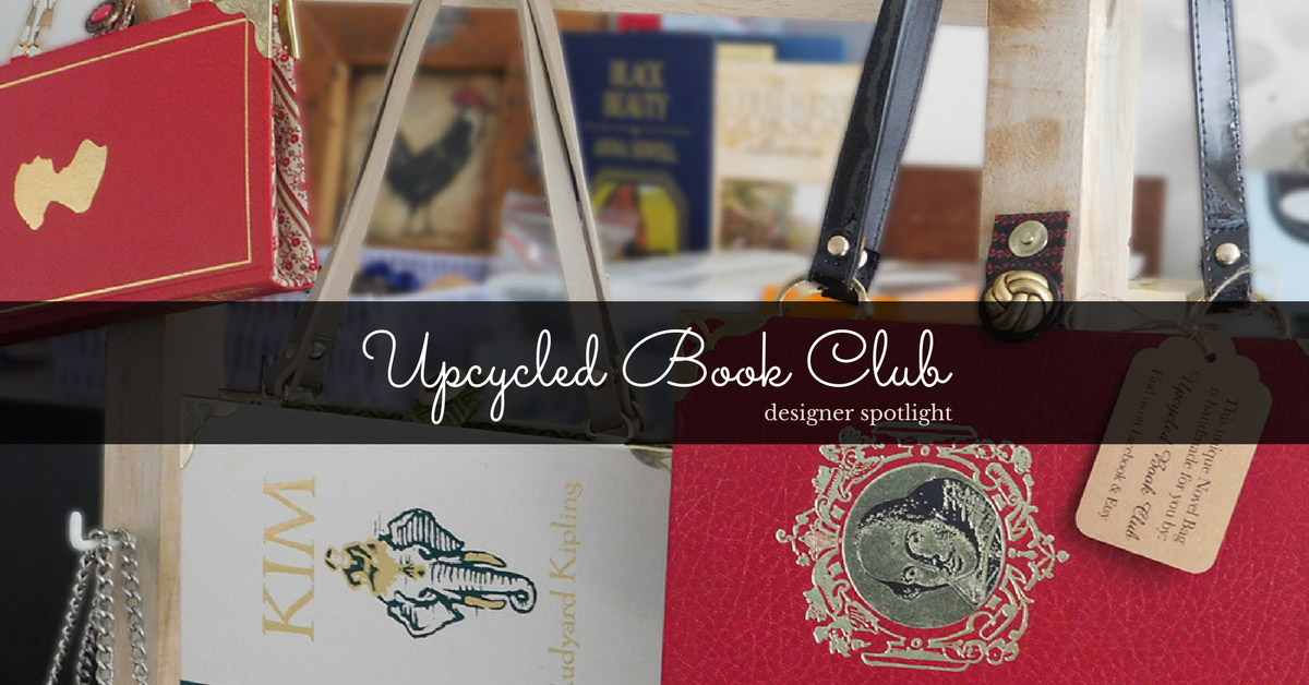 Book-lover and long-time crafter, Leanne gives new life to old books, upcycling them into truly unique bags and journals