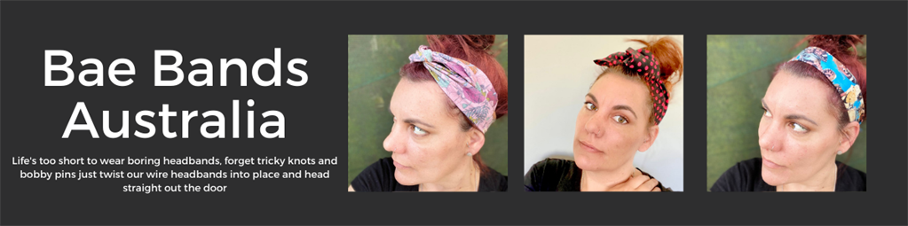 Bae Bands - Funky Boho Wire Headbands