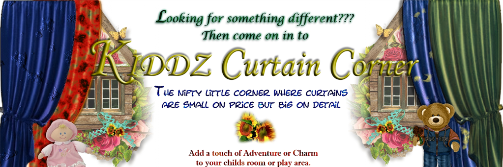 Kiddz Curtain Corner